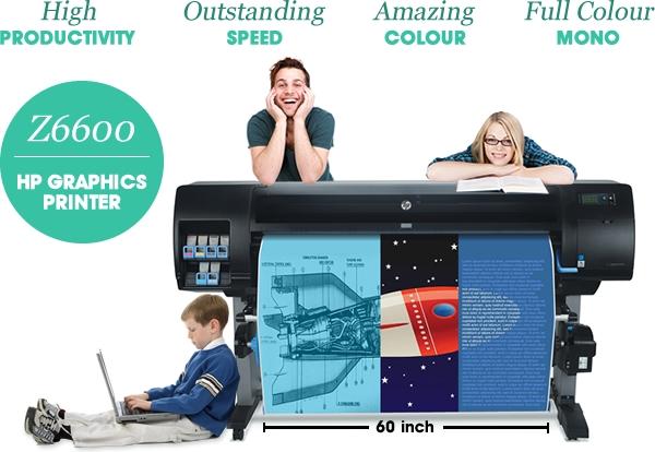 HP GRAPHICS PRINTERS: Z6600, Z5400